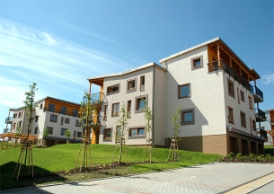 New flats of Ostrava Hermanice